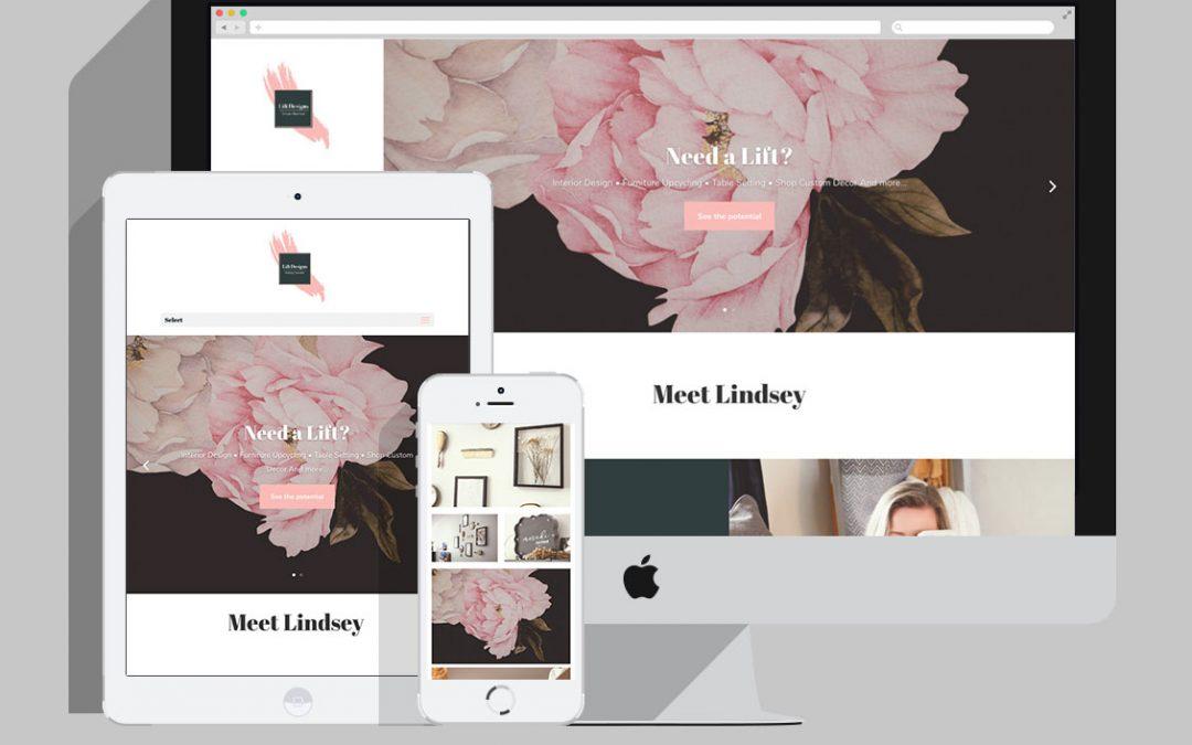 Lift Designs / Website